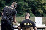 Krajský přebor policie Pardubického kraje ve střelbě.