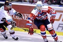 DO VŠECH ZÁPASŮ Pardubic zatím v této extraligové sezoně zasáhl útočník David Tomášek, který je nejproduktivnějším hráčem Dynama.