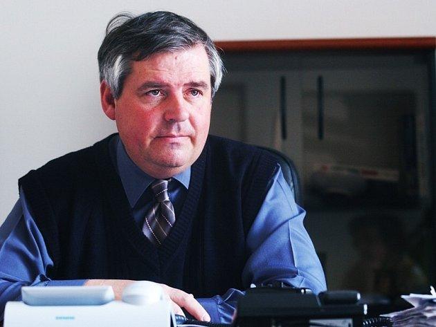 Ředitel Úřadu práce v Pardubicích Petr Klimpl.