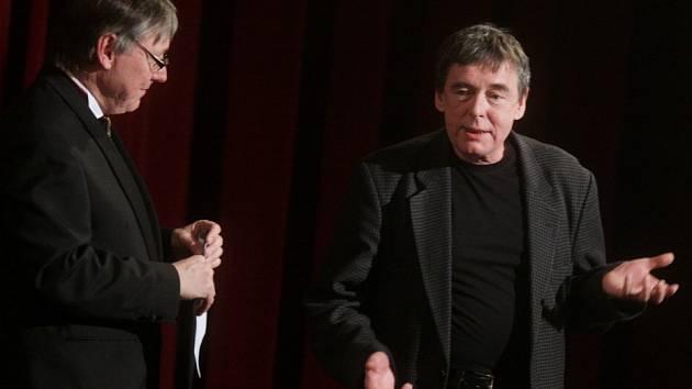 Petr Dohnal a Jan Kolář (vpravo)