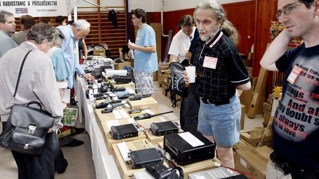 Sraz radioamatérů v Holicích