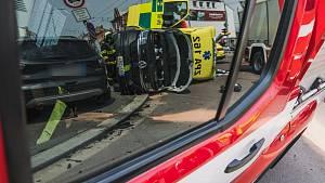 Nehoda sanitky