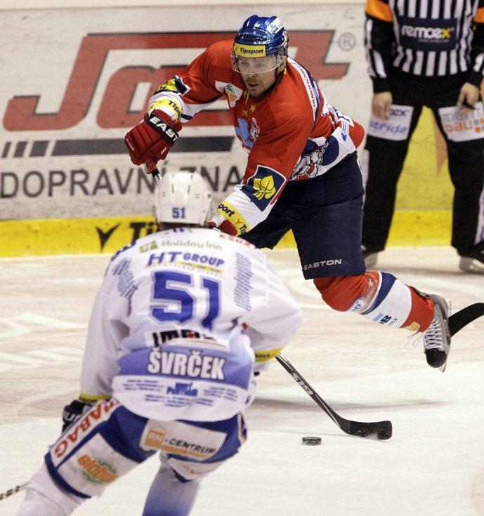 Pátý finálový zápas. Pardubice - Brno 6:4