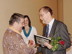 Hejtman Radko Martínek ocenil i zástupce novohradské charity.