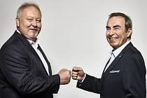 Michal Kortyš a Jiří Skalický