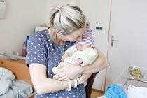 ANTONÍN VIK se narodil 20. ledna v 11 hodin a 39 minut. Vážil 2930 gramů a měřil 50 centimetrů. Maminku Barboru podpořil u porodu tatínek Vladimír. Rodina bydlí v Hradci Králové.
