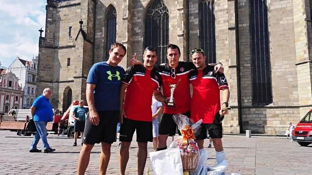 První místo v soutěži Družstev v TFA v Plzni.
