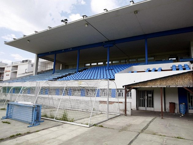 Fotbalový stadion v Pardubicích