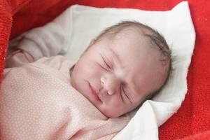 LAURA PROKŮPKOVÁ se narodila 16. března ve 20 hodin a 13 minut. Holčička vážila 2 950 gramů a měřila 50 centimetrů. Maminku Moniku podpořil u porodu tatínek Patrik. Rodina bydlí v Pardubicích.