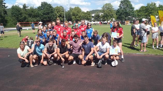 Z volejbalového turnaje v Německu