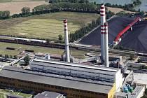 Elektrárna Opatovice nad Labem.
