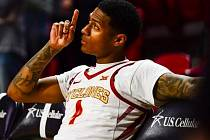 Basketbalista Donovan Jackson ještě v dresu Iowa State