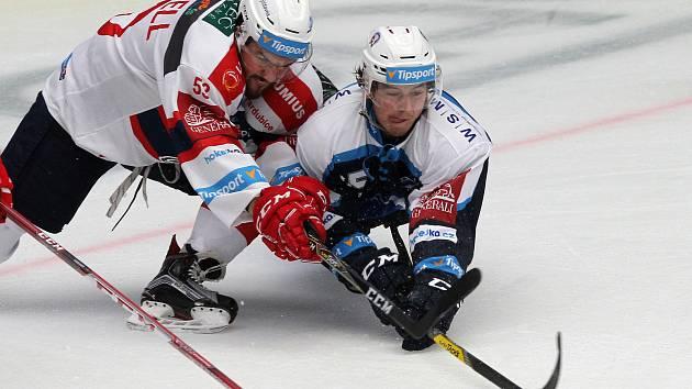 hokej extraliga HC Škoda Plzeň (modrobílé dresy) x HC Dynamo Pardubice