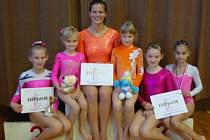 Sportovním gymnastkám opět cinkly medaile