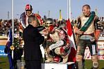 Pohádkový konec měl pro Dána Hanse Andersena šedesátý ročník slavného plochodrážního závodu o Zlatou přilbu města Pardubic.
