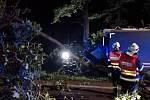 Nehoda nákladního automobilu u Býště měla bohužel tragické následky.