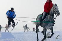 Horseskijöring v Janově u Litomyšle