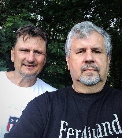 Luboš Kubík a Jaromír Pýcha.