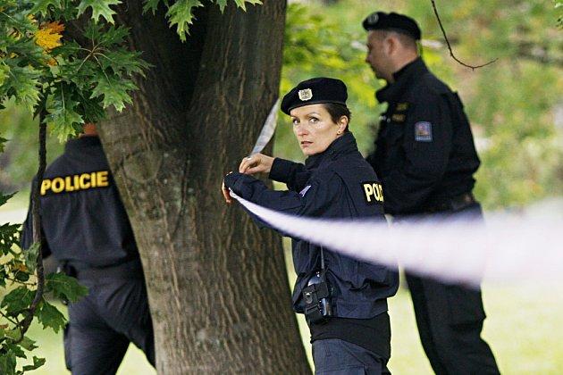 Policie místo označila páskou. Ilustrační foto.