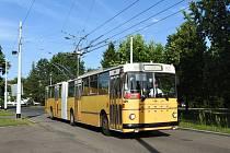 Historický trolejbus vyjede na konec prázdnin