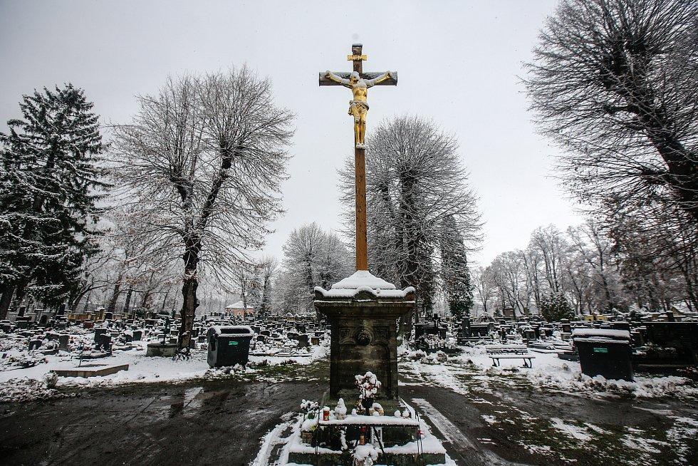 Pardubický hřbitov.
