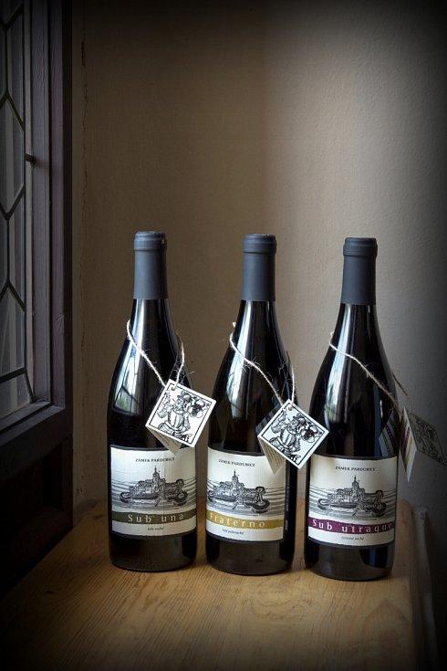 Pardubický zámek vsadil na víno.