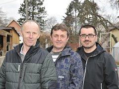 Trojice mužů z Osíku zachránila život svému sousedovi, kterého postihl těžký srdeční kolaps. Získali Cenu Michala Rabase za záchranu.