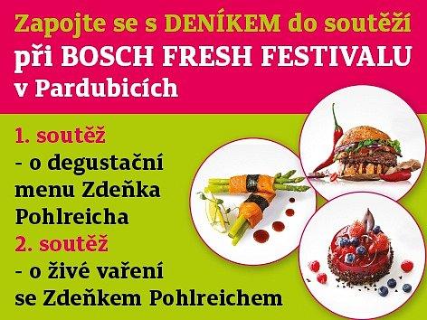 Bosch Fresh festival vPardubicích.