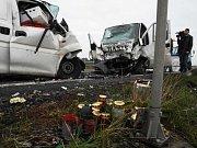 Dopravní nehoda u Medlešic si 12. září vyžádala jeden lidský život.