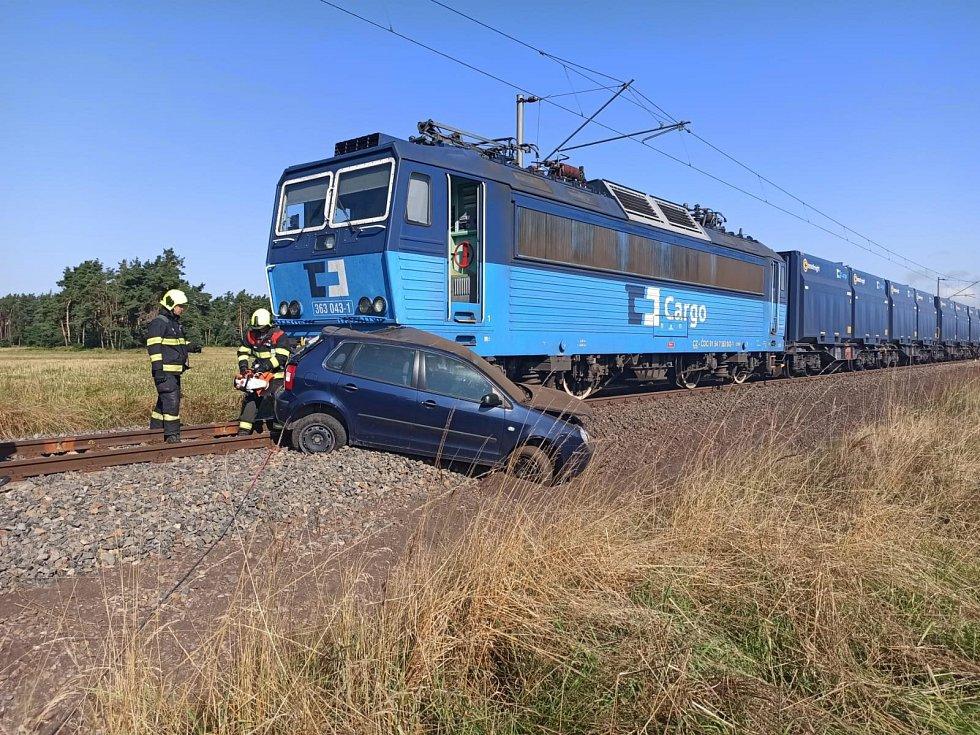 Srážka s vlakem u Opatovic