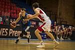 Český pohár basketbalistů - semifinále Hyundai FINAL 8: BK JIP Pardubice - BC Geosan Kolín.