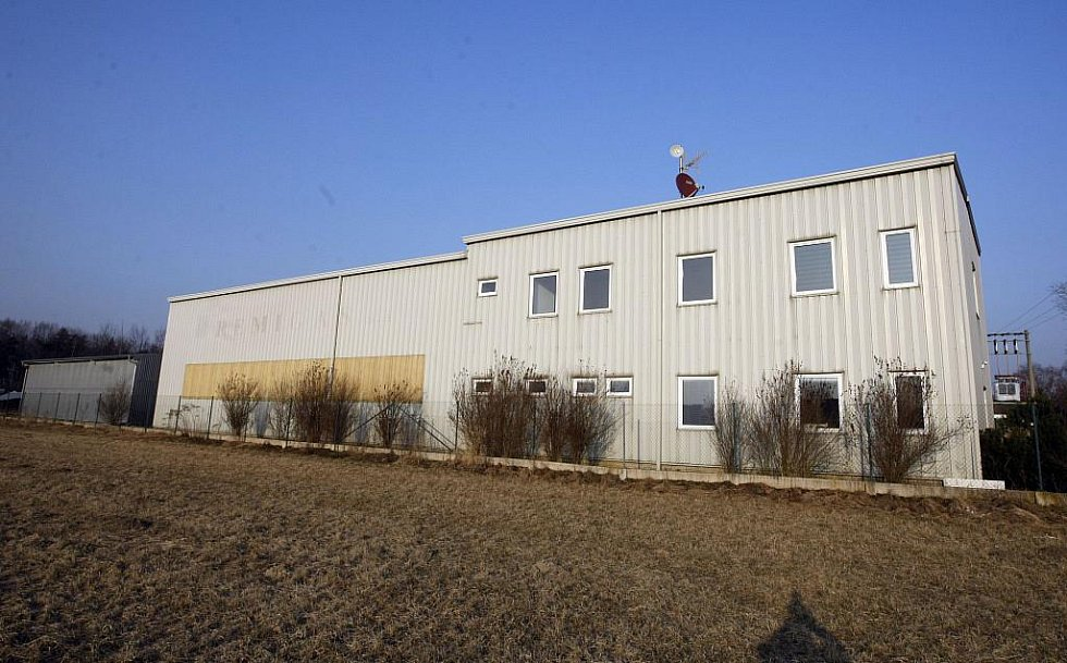 Hlavní provozovna firmy Larsen ve Spojile u Pardubic.