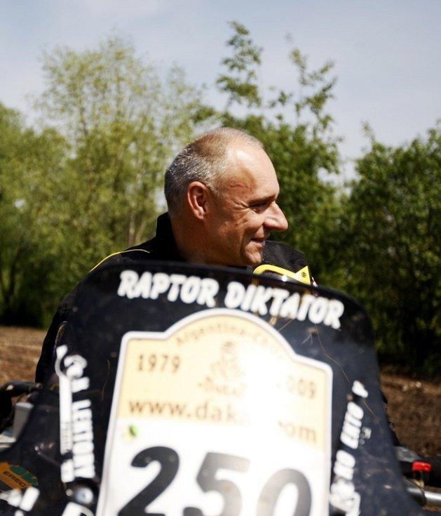 Vítěz dakarské rally Josef Macháček