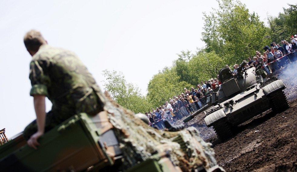 Sobota patřila tankům