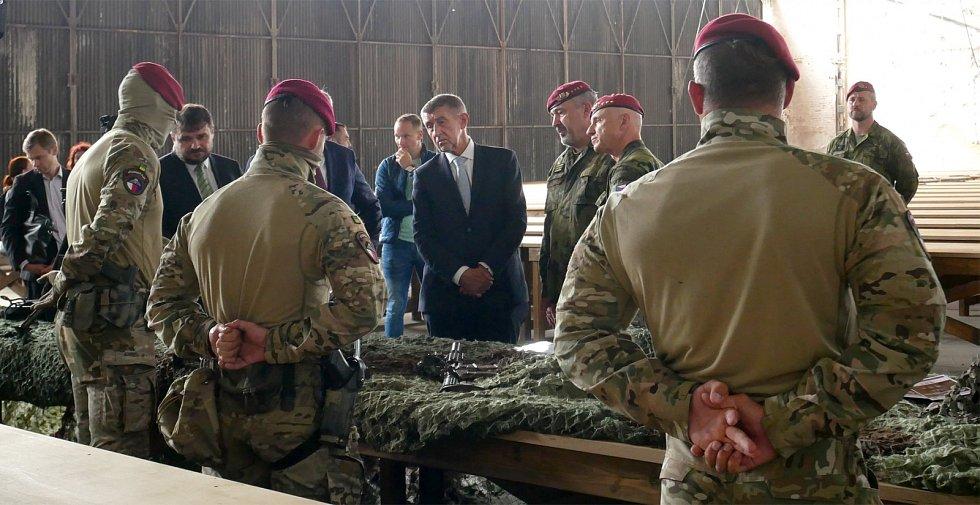 Z návštěvy premiéra Andreje Babiše v Pardubickém kraji. Snímky jsou z Hlinska, Chrudimi i Pardubic