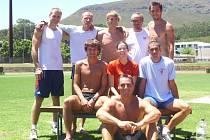Soustředění v Jihoafrické republice se účastnil i Roman Šebrle