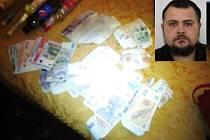 Uloupená tržba? S penězmi z prodejny se měl hledaný Martin Ammar Málik chlubit také na sociální síti.