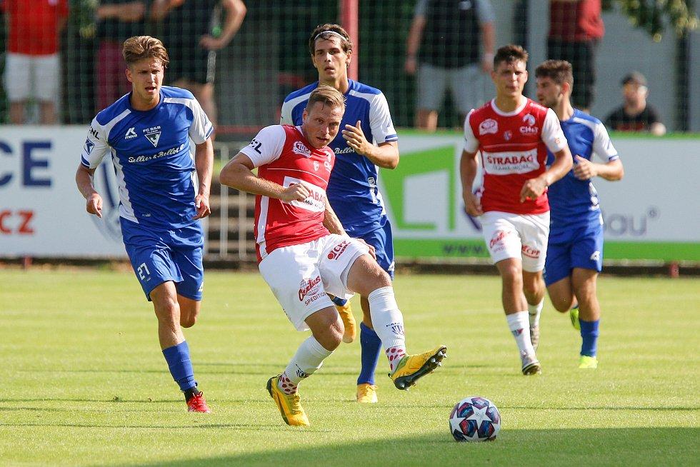 Přípravné fotbalové utkání FK Pardubice - FC Sellier & Bellot Vlašim
