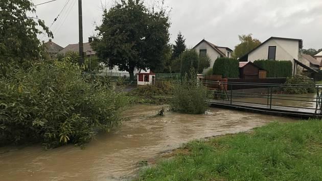 Potok Lodrantka v Dolní Rovni