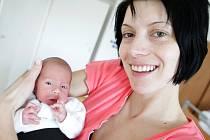 Filip Peroutka se narodil 24. února v 8:48 hodin. Měřil 44 centimetrů a vážil 1990 gramů. Maminka Iva a tatínek Daniel jsou z České Třebové.