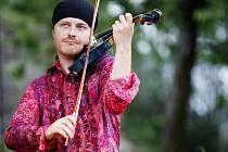 Pavel Šporcl zahrál na Kunětické hoře