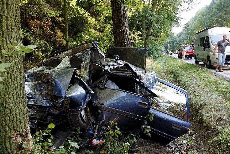 V autě, které těžce zranilo cyklistku, cestovala celá rodina. Zde byli zraněni čtyři lidé těžce a jedna osoba lehce