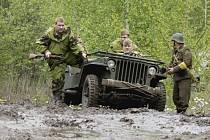 Bojová ukázka Čas odplaty 1945 v podání klubů vojenské historie.
