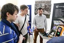Studenti zkoumali příležitosti na trhu práce.