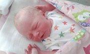 MAGDALÉNA ČERNÁ se narodila 26. února. Měřila 43 centimetrů a vážila 2280 gramů. Maminku Kateřinu podpořil u porodu tatínek Pavel. Rodina bydlí v Hrochově Týnci.