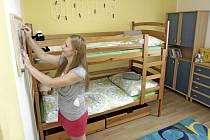 Dětské centrum Veská připravilo pro děti byt.