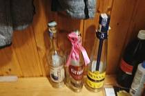 Šatna ošetřovatelky - alkoholičky