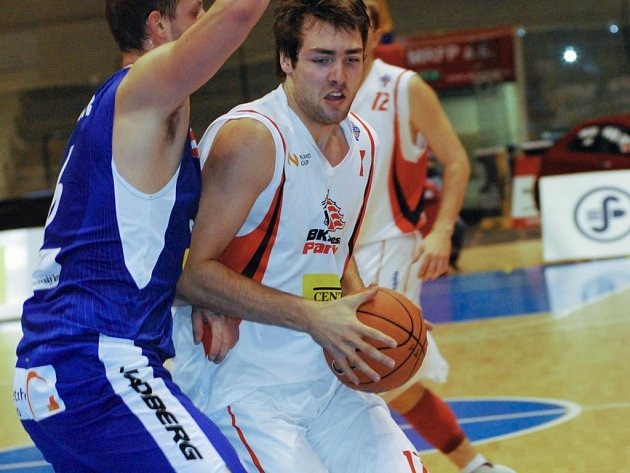 Basketbalové utkání Pardubice x Brno