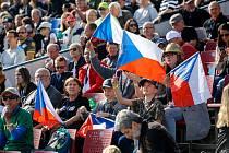 Slavnostní zahájení 73. Zlaté přilby města Pardubic na svítkovském plochodrážním stadioně.