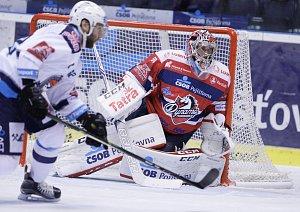 Hokejová extraliga Pardubice - Chomutov